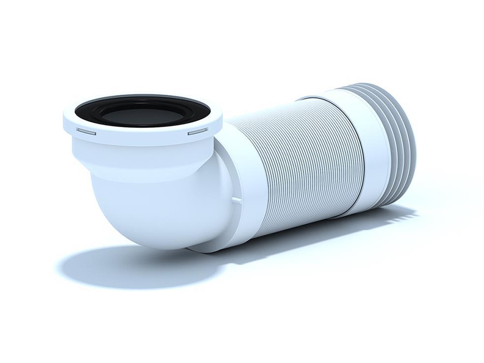 Racord flexibil 300-750mm cu cot de 90° pentru WC K729R 1032000015