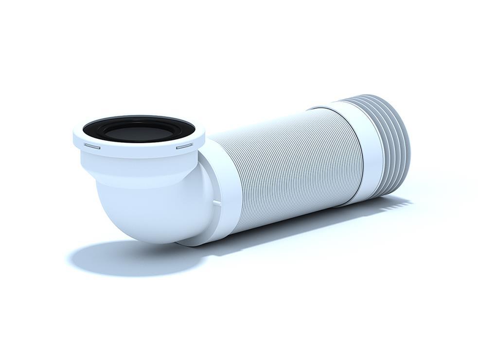 Racord flexibil 350-950 mm cu cot 90° pentru WC K739R 1032000016