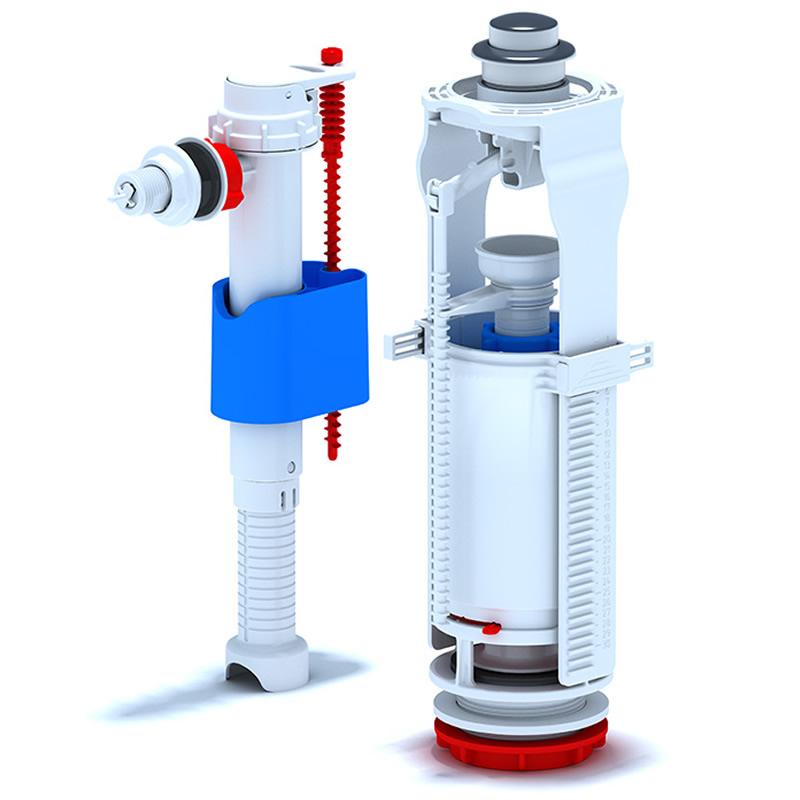 Mecanism cu flotor 1/2, plastic WC 6050M 1032000050