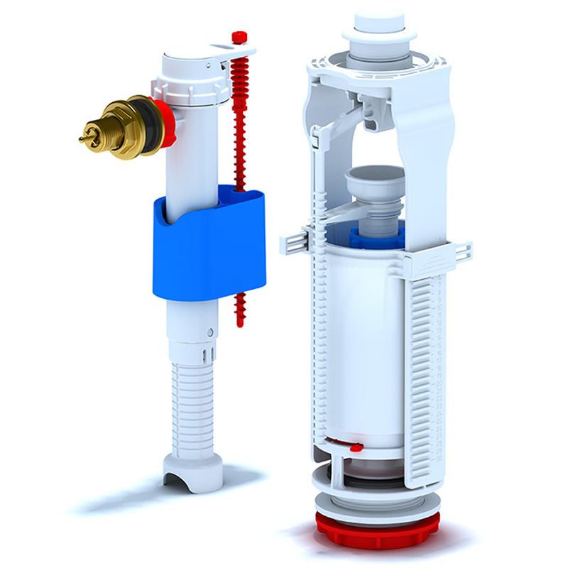 Mecanism cu flotor 3/8, alama WC 8040C 1032000051
