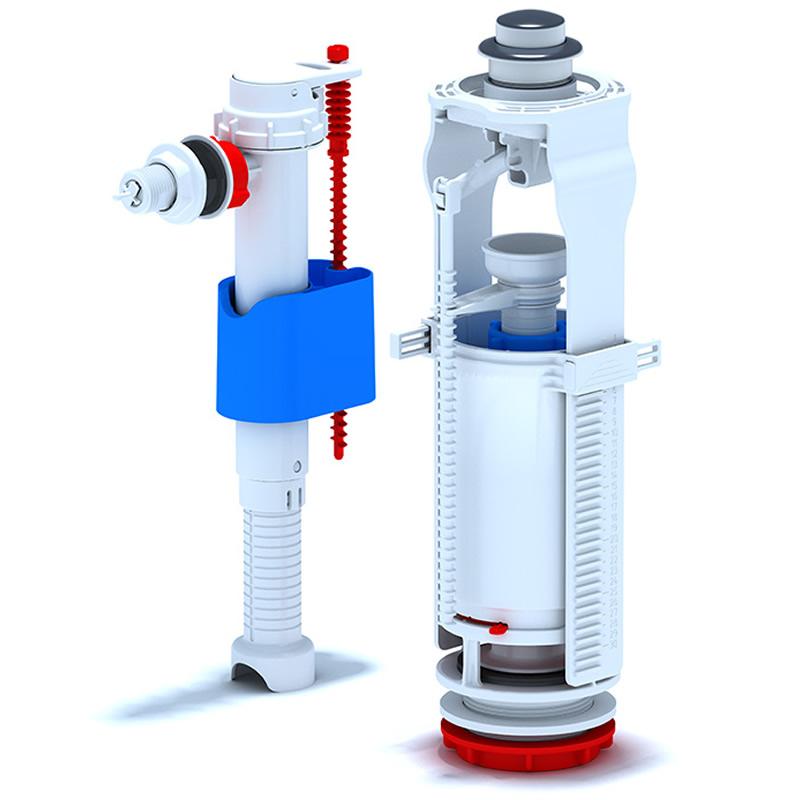Mecanism cu flotor 3/8, plastic WC 8030C 1032000053