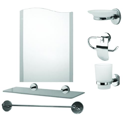 Набор принадлежностей для ванны из шести элементов 1034000017