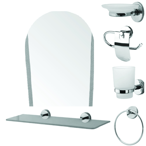 Set accesorii pentru baie cu 6 piese SI 1034000018