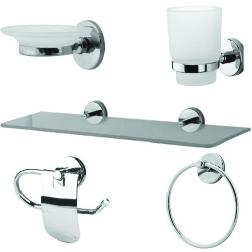 Set accesorii pentru baie cu 5 piese SI  1034000020