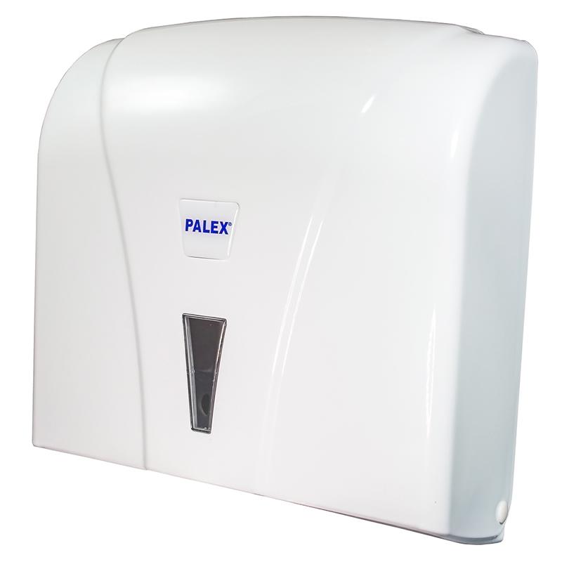 Белый пластиковый диспенсер для туалетной бумаги 1034000033