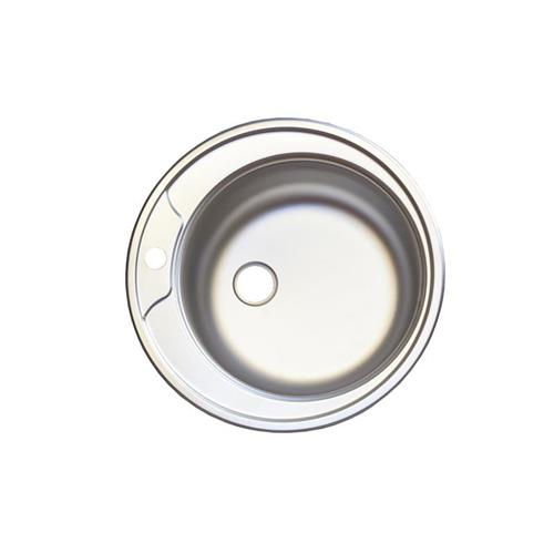 Chiuveta inox rotunda O 490 mm anticalcar EC 245 D 1008000045