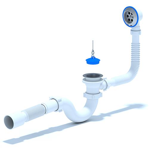 Sifon Flexibil pentru Cada cu Preaplin E155 1032000063