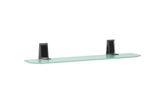Etajera din sticla mata pentru baie PI02
