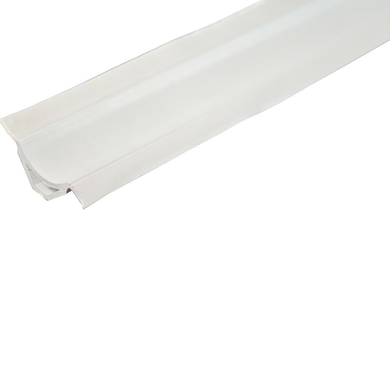 Белая ПВХ-заглушка для ванны Уплотнительный профиль Длина  2,5 M 8002000001